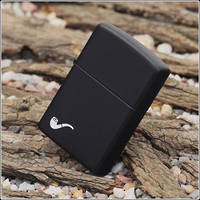 Zippo Black Matte Pipe Lighter