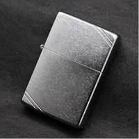 Zippo Street Chrome Vintage with Slashes Lighter - 267