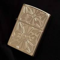 Zippo Ornament High Polish Brass Lighter