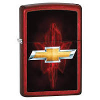 Zippo Chevy Candy Apple Red Lighter