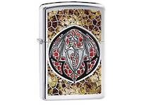 Zippo Dragon High Polish Chrome Fusion Lighter