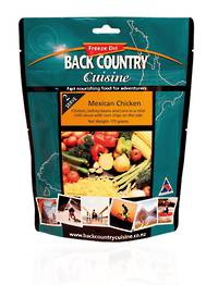 Back Country Cuisine Mexican Chicken 2 Serve