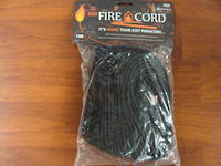 550 Fire Cord / Firecord 100ft - Black