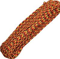 100ft 550 Parachute Cord/Paracord - Fireball