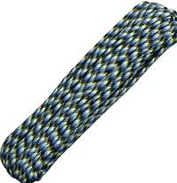 100ft 550 Parachute Cord/Paracord - Blue Snake