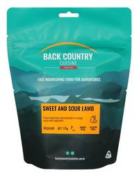 BACK COUNTRY CUISINE SWEET AND SOUR LAMB - GLUTEN FREE  REGULAR