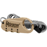 Maxpedition Steel Cable Lock - Khaki