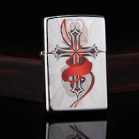 Zippo Cross w/Wings Lighter