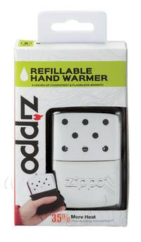ZIPPO 6-Hour High Polish Chrome Refillable Hand Warmer