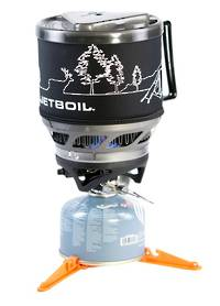 JETBOIL MINIMO COOKING SYSTEMS - CARBON WITH LINE ART