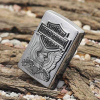 Zippo Harley Davidson Made in USA Emblem Lighter