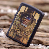 Zippo Harley Davidson Your Road Black Matte Lighter