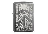 Zippo SONS OF ANARCHY REAPER CREW BLACK ICE Lighter