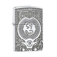 Zippo Anne Stokes Dragon Design, Armor - High Polish Chrome Lighter