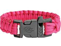 Colt SPEAR Survival Bracelet Pink with Whistle