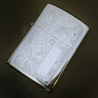 Zippo Venetian High Polish Chrome Lighter