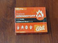 Esbit 4g Solid Fuel Tablets