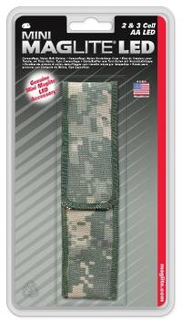 Maglite 2 & 3 Cell AA Led Camo Nylon Belt Holster