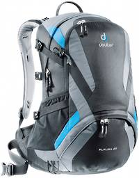 DEUTER FUTURA 22, BLACK-TITAN