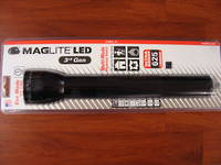 2 x Maglite LED 3 D Cell Torch 3rd Generation 625 Lumens- Black