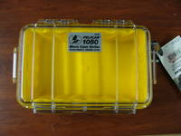 Pelican 1050 Micro Case Clear (Yellow)