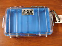 Pelican 1040 Micro Case Clear Blue