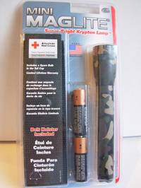 Maglite AA Camo Torch w/ Holster
