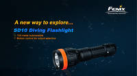 Fenix Diving Flashlight 100M Waterproof SD10